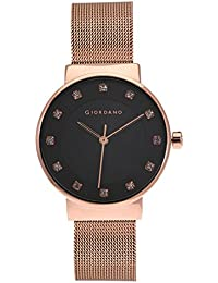 Giordano Analog Black Dial Women's Watch - A2062-11