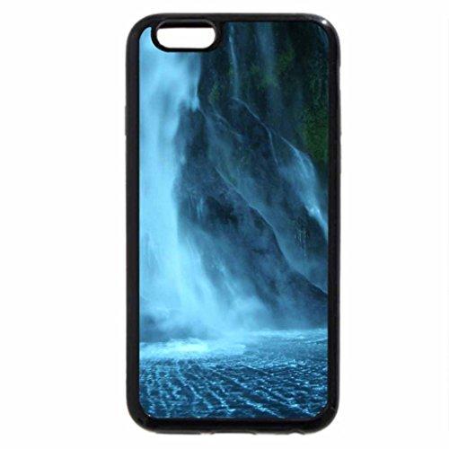 iPhone 6S / iPhone 6 Case (Black) CACHOEIRA NA LUZ DA NOITE