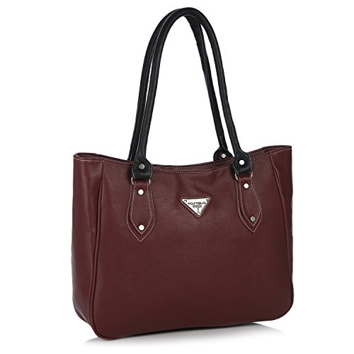 Fostelo Women's Carousel Shoulder Bag (Maroon) (FSB-442)