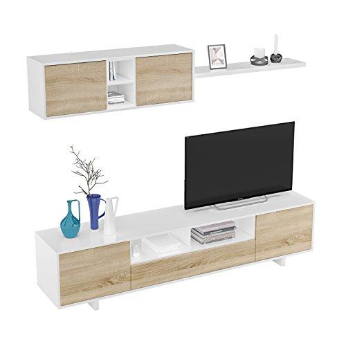 Habitdesign 1F6682BO – Mueble de salón Moderno, modulos Comedor ...