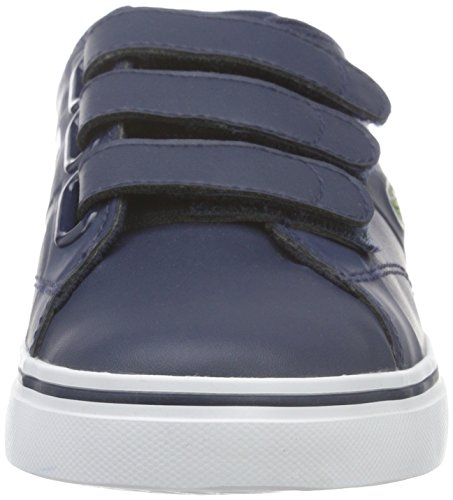 Lacoste Fairlead 316 1, Baskets Basses Mixte Enfant Bleu - Blau (NVY 003)