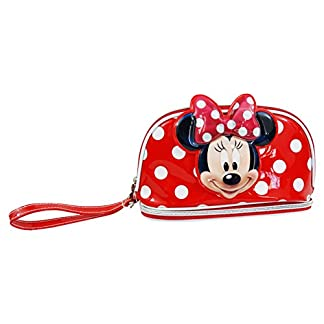 Disney Minnie Infantil Caso Make Up Bag Bolsos Neceser Vanity Estuche