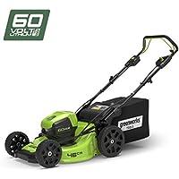 Greenworks Tools 2502907cortacésped Autopropulsado 46cm 60V Lithium-Ion (sin batería ni cargador)–2502907uc, 60V, Verde