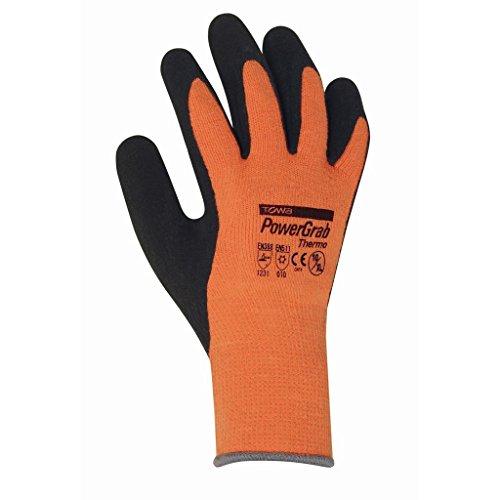 Gants d'hiver PowerGrab Thermo, Orange--towa-2203-Taille 08