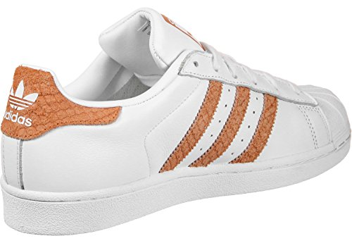 Adidas Superstar Slip On, Zapatillas para Mujer, Naranja (Clear Orange/Clear Orange/Footwear White 0), 38 2/3 EU adidas