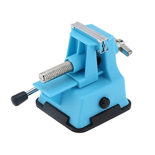 Pro'sKit PD - 372 Mini Schraubstock Bench Sitzbank die Tisch-Schraubstock für DIY Schmuck Craft Backform mit Reparatur-Werkzeug, Maulöffnung 25 mm)