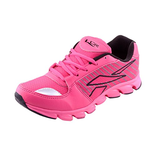 Lancer Women's Norwaypink-Bl Pink Synthetic Sports Running Shoes 5 UK