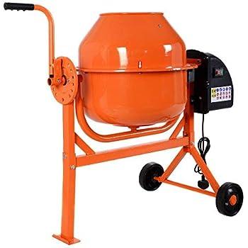 JTF Mega Discount Warehouse Cement Mixer 63L: Amazon co uk: Garden