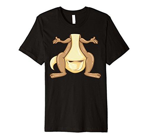 Funny Känguru Kostüm Shirt–Lustige Halloween Tee -