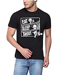 pepperClub Men's Printed T-Shirt for Photographer