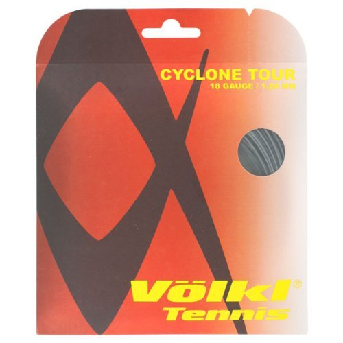 Cyclone Tour 18G Tennis String Anthracite by Volkl (Strings 18g)