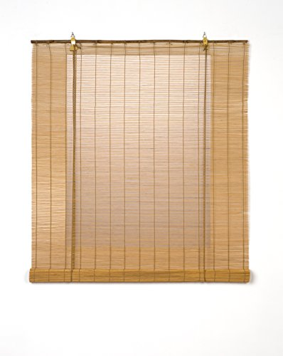 Estores Basic - Estores para ventana, color miel, 150x170cm