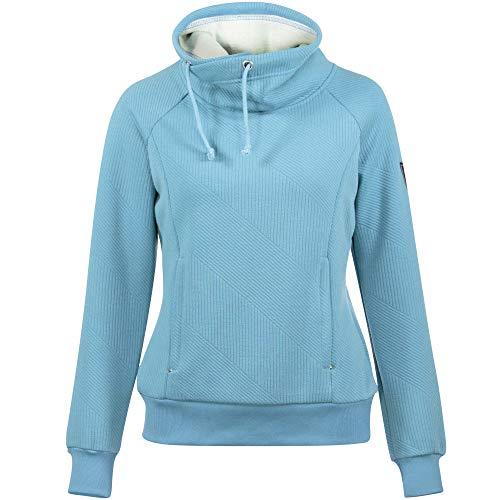 horze Damen Sweatshirt Gwen, Deep Coral Fuchsia, 34