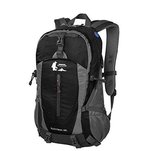 zaino alpinismo/ turismo all'aria aperta Pack/Borsa porta computer Nero