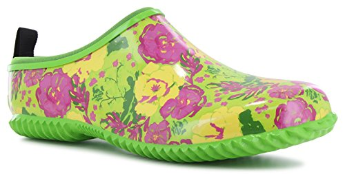 Western Chief Florally Clog, Green, 11 - Western Chief-clogs