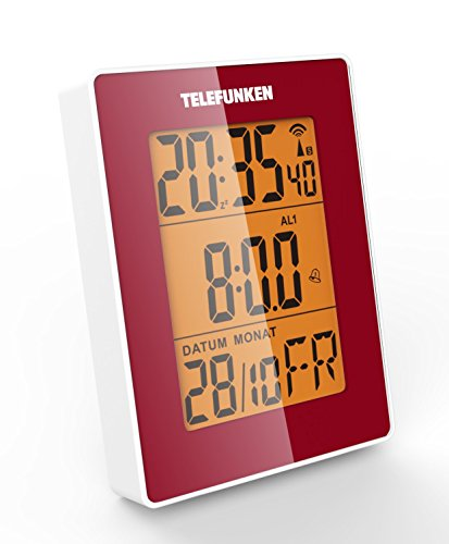 Telefunken Funkwecker DCF LCD Display im Test
