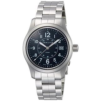 Hamilton Reloj Analogico para Hombre de Cuarzo con Correa en Acero Inoxidable H68201143
