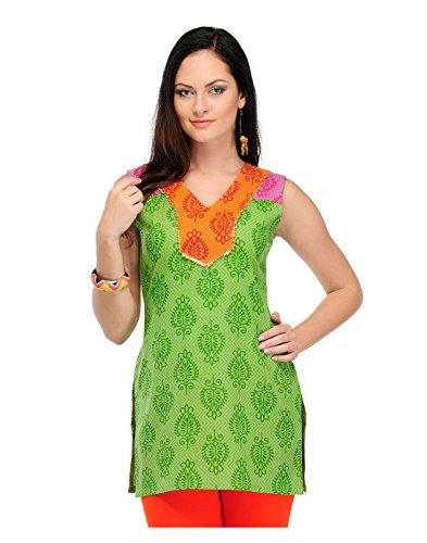 Yepme Women's Green Cotton Kurti-YPMKURT0843_XS