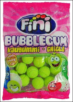 Fini Bubble Gum Tennis Balls 100g