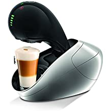 Krups Dolce Gusto KP600E Nescafe Movenza Kaffeekapselmaschine automatisch 15 Bar silber (Zertifiziert und Generalüberholt)
