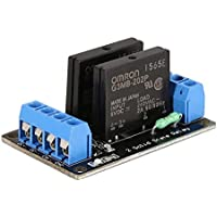 Gugutogo 2 Way Solid State Relay Module Board DC 5V High Level Trigger SSR for Arduino