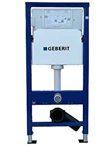 Geberit b ti support pour wc suspendu plaque d for Geberit technical support