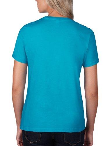 anvil Damen T-Shirt / 880 Türkis (CBB-Caribbean Blue 308)