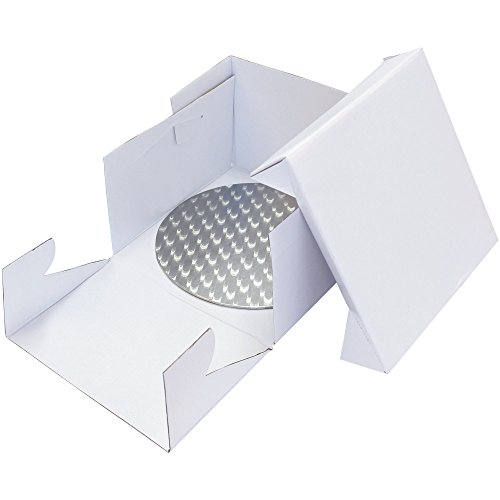 PME-Base para tarta redondo (3mm de espesor) con tamaño a juego Cake Box, lo que garantiza que su hermoso pastel creaciones se embalaje seguro y sonido con mínimo daño potencial en tránsito. Disponible en varias tallas.