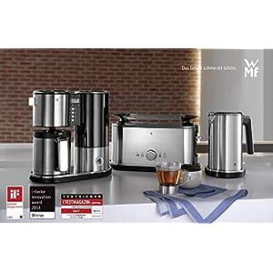 wmf lineo toaster langschlitz xxl toast br tchenaufsatz 10 br unungsstufen bagel. Black Bedroom Furniture Sets. Home Design Ideas