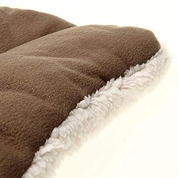 Outtybrave Creative Tapis pour Chien Chat Lit pour Chien Lavable Coussin Oreiller Pain Toast Matelas S?: 45x 32cm