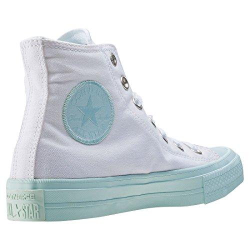 Converse Unisex-Erwachsene All Star Ii Hohe Sneaker white/fiberglass/fiberglass