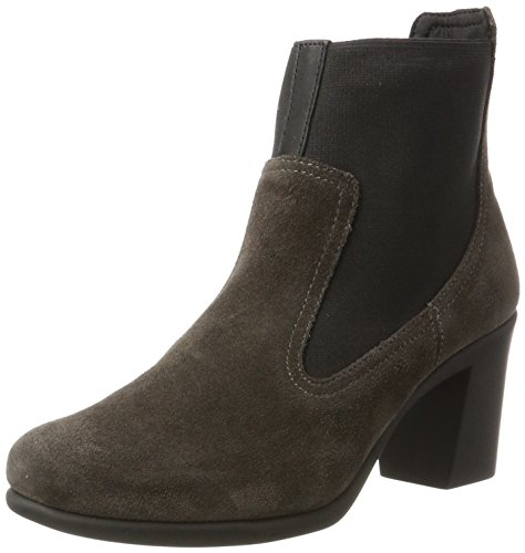 Aerosoles HOLE AGAIN SUEDE, Damen Chelsea Boots, Grau (Carbon), 39 EU (5.5 UK) (Aerosoles Leder)