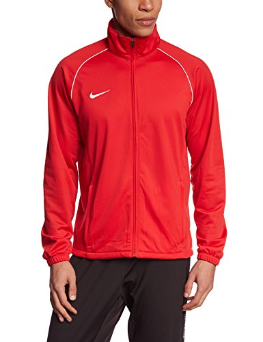NIKE Herren Jacke Found 12 Poly University Red/White