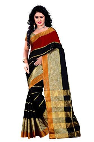Trendz Women's cottan Silk Saree(TZ_Kashish_Red)