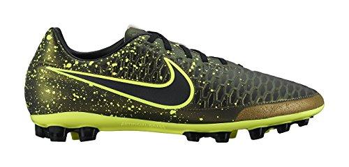 Nike Magista Onda AG-R, Botas de fútbol para Hombre, Negro/Amarillo Dark Drk Citron-Blk-Vlt, 42 EU...