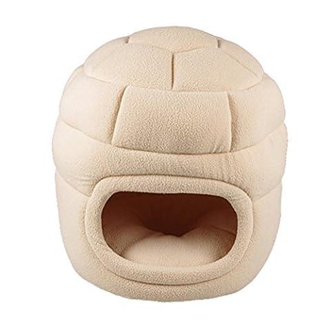 Umall Mixse 3en 1Chat de transport et peluche Cave/lit pour chat Intérieur ou extérieur Chat Lit igloo Maison (Rose)