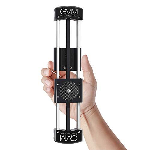 GVM Kamera Slider, Video Kamera Slider Dolly Rail Track System zur Stabilisierung von Foto Film Film Video Making DSLR-Kamera wie Nikon Canon Pentax Sony Multi-system-video-kamera