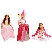 Cesar O753-004 - Disfraz infantil de reina/princesa/hada (3 en 1, 3-5 años)