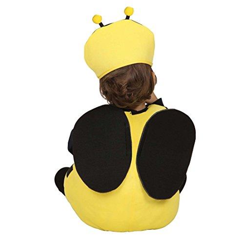 Bienenkostüm Kinder Hummel Faschingskostüm 90-104 cm 1-3 Jahre Biene Maja Kinderkostüm Bienen Kostüm Karnevalskostüm Baby Tierkostüm Bienchen Babykostüm