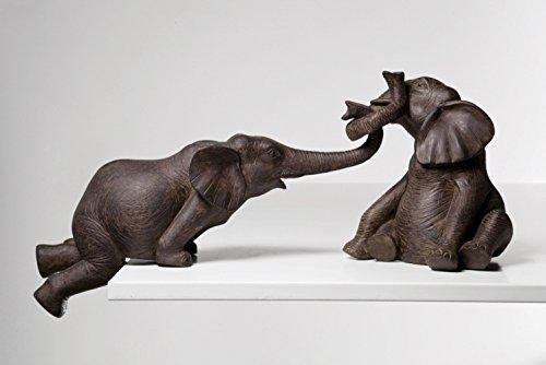 Kare 31370 Deko Figur Elefant Zirkus 2-er Set