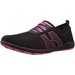 Sparx Women's Black and Pink Nordic Walking Shoes - 5 UK (SX0073L)