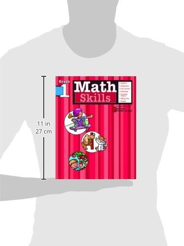 Math Skills: Grade 1 (Flash Kids Harcourt Family Learning)
