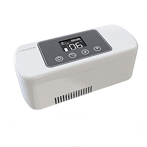 CGOLDENWALL Caja de insulina refrigerada de 175 x 60 x 28 mm,...