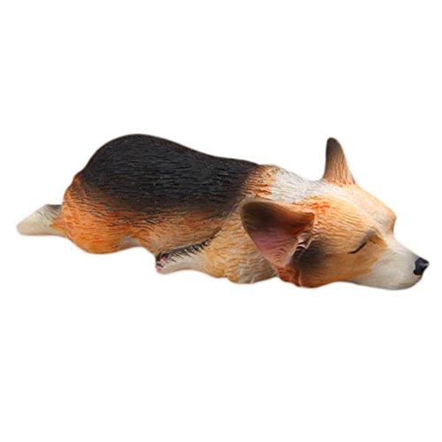 Kühlschrank Aufkleber Magnet Kühlschrank 3D Sleeping Bulldog Cartoon Tier Magnet Kinder frühe Bildung Hund Aufkleber Zufällige Farbe wird geliefert