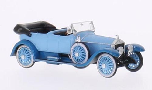 rolls-royce-silver-ghost-hellblau-blau-offen-modellauto-fertigmodell-ricko-187