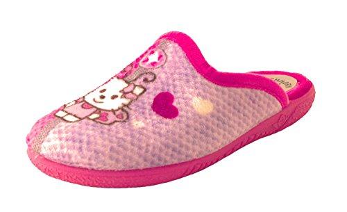 Eichhorn Kinder Pantolette Fuxia AR24139 pink Größe 27 bis 34 Pink
