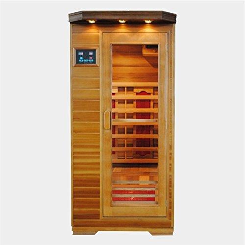 Infrarot Sauna Sola Infrarot Sauna für 1 Person Wärmekabine Neu mit CD Radio Leselampe Ozon etc.