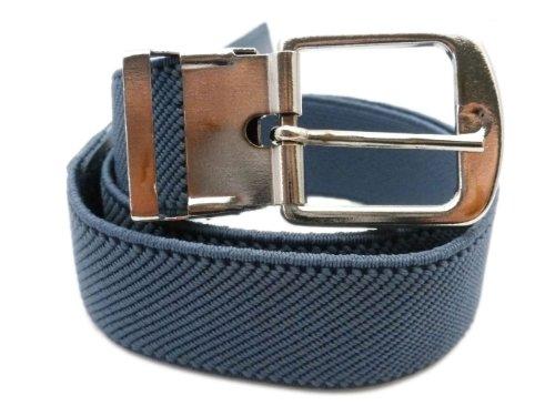Cintura Elasticizzata per Bambini 1-6 Anni, Fibbia Argento -