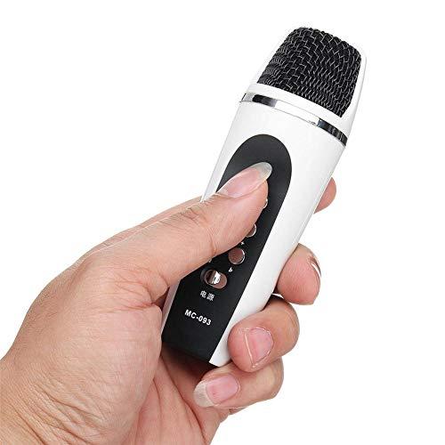 Lembeauty 4-Modi Sprachwechsel-Mikrofon für Smartphone, Stimmwechseler mit Ohrhörer für iPhone Apple PC Android
