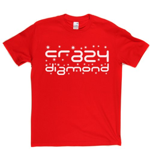 Crazy Diamond Track Song 1993 T-shirt Rot